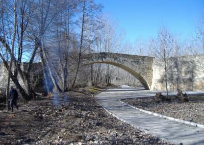 Puente Romano. Talamanca de Jarama. Madrid