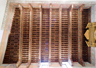 Artesonado. Sala Capitular del Convento de San Clemente. Toledo