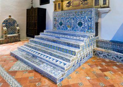 Azulejería. Sala Capitular del Convento de San Clemente. Toledo