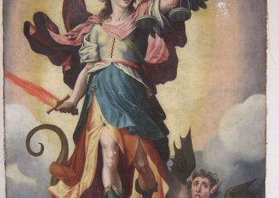 Coleccion de Óleos sobre lienzo en el Convento de San Clemente en Toledo