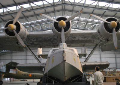 Hidroavión Dornier DO-24. Tipificación de patologías.  Museo del Aire. Madrid