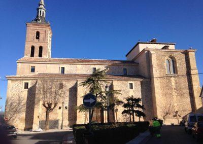 Iglesia de San Pedro Apóstol. Fuente el Saz. Madrid