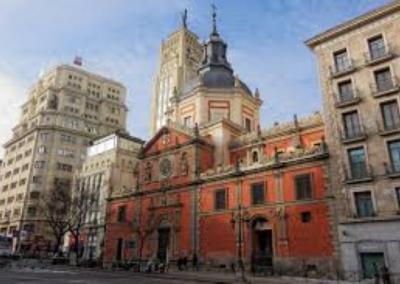 Iglesia de la Concepción Real de Calatrava. Madrid