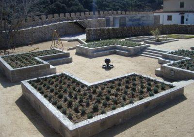 Jardín Medieval. Buitrago del Lozoya. Madrid