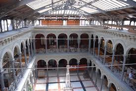 Lucernario de la Escuela Técnica Superior de Ingenieros de Minas y Energía. Universidad Politécnica. Madrid