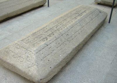Colección de piezas arqueológicas. Museo Sefardí. Toledo.