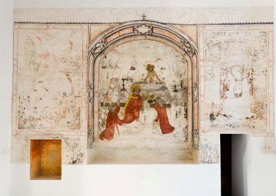Pinturas murales de la Capilla de San Jerónimo en Toledo