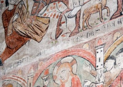 Pinturas murales. Sala Capitular del Convento de San Clemente. Toledo