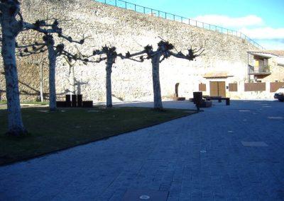 Plaza de los Caídos. Buitrago del Lozoya. Madrid
