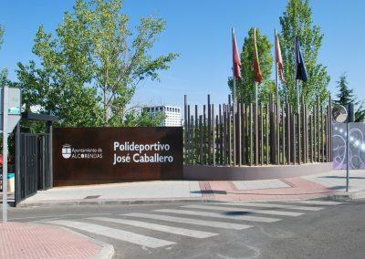 Polideportivo José Caballero. Alcobendas. Madrid