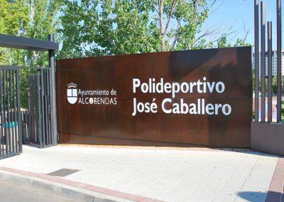 Polideportivo José Caballero de Alcobendas (Madrid) (2)