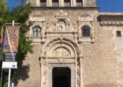 Portadas interiores del Museo de Santa Cruz. Toledo