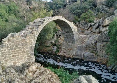 Puente de la Alcanzorla. Galapagar. Madrid