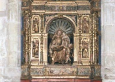 Retablo de la Virgen de la Capilla de los Muñoz. Catedral de Cuenca