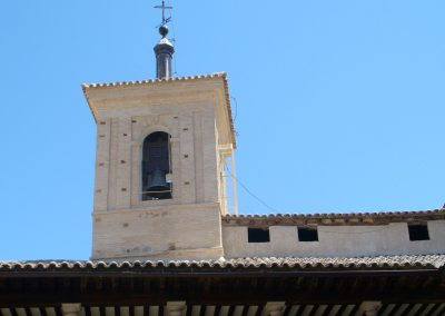 Torre de la Iglesia del Convento de San Clemente. Toledo