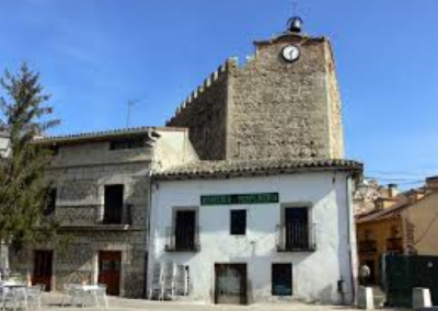 Torre del Reloj. Buitrago del Lozoya. Madrid