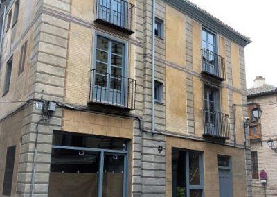 Restauración de fachada en C/ Aljibillo. Toledo