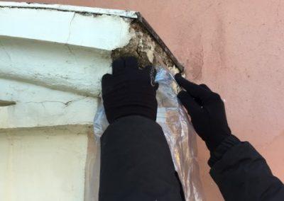 restauración de molduras