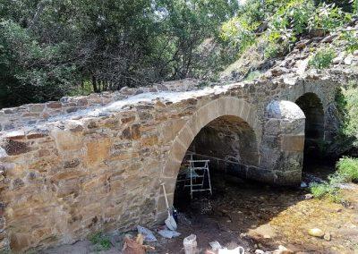 Restauración del Puente Antiguo de Horcajo de la Sierra. Madrid