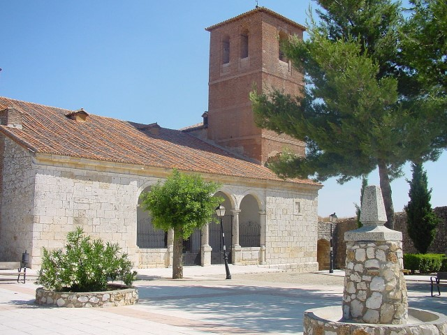 Iglesia parroquial de Santorcaz. Madrid.
